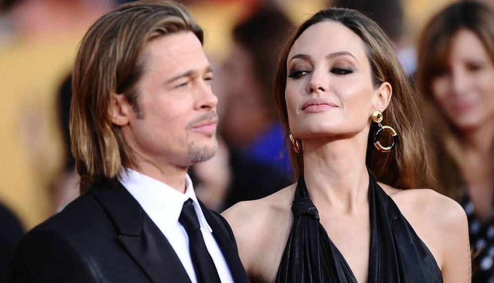 Foto: Brad Pitt y Angelina Jolie en una imagen de archivo. (Gtres)