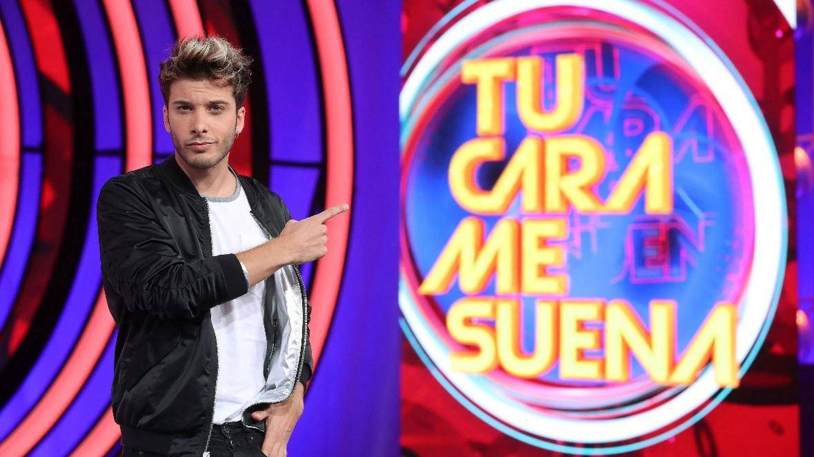 Foto: Blas Cantó, de Auryn, en 'TCMS'