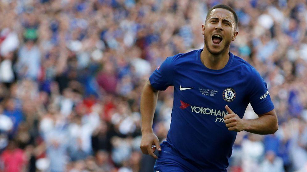 Foto: Hazard, con el Chelsea. (Reuters)