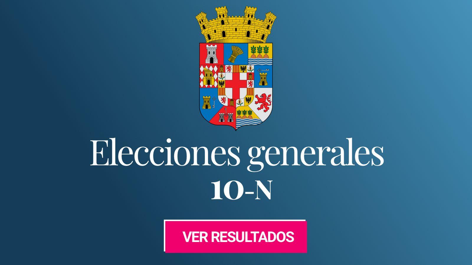 Foto: Elecciones generales 2019 en la provincia de Almería. (C.C./Miguillen)