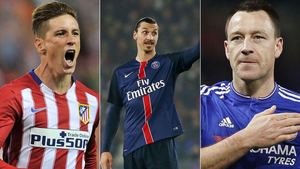 De Valdés a Ibrahimovic: el XI de gangas que se pueden fichar gratis en este 2016