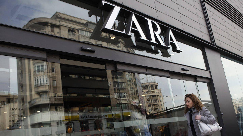 Tienda de Zara en Rumanía (Getty)