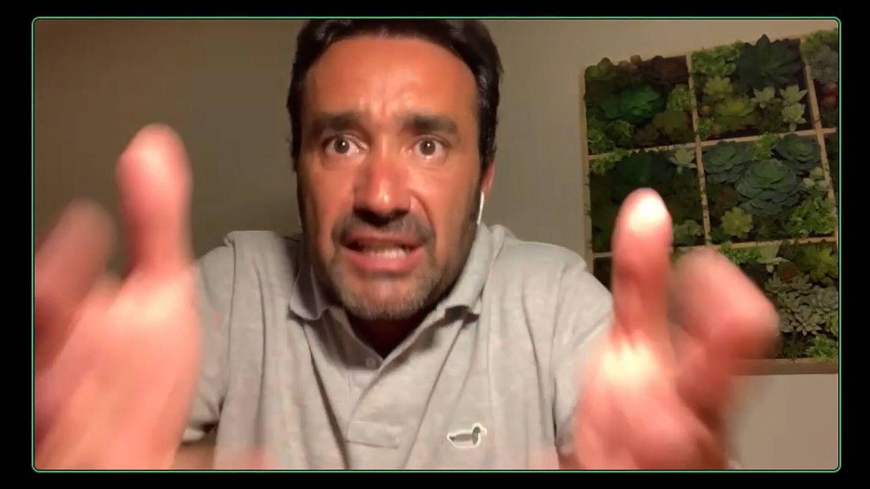 Juanma Castaño, respondiendo a Ibai. (Twitch)