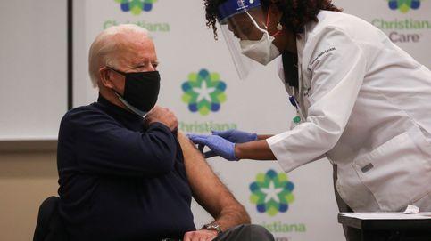 Biden recibe la vacuna del covid en público y pide no preocuparse