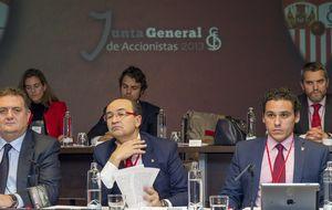 José Castro ya ejerce como nuevo presidente del Consejo del Sevilla