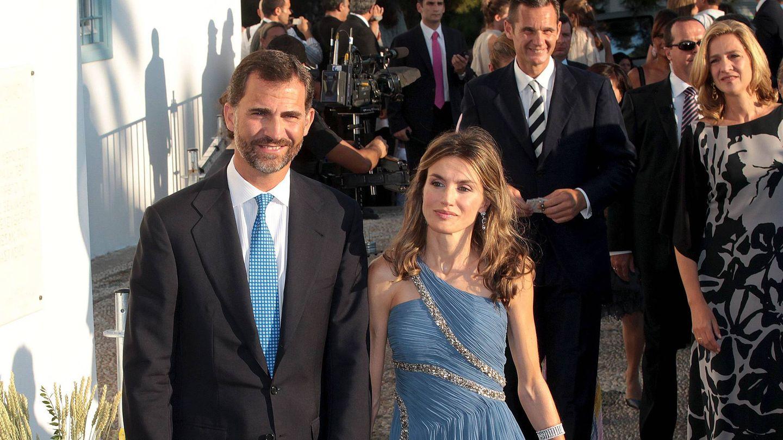 Felipe y Letizia en la boda de Nicolás de Grecia. (EFE)