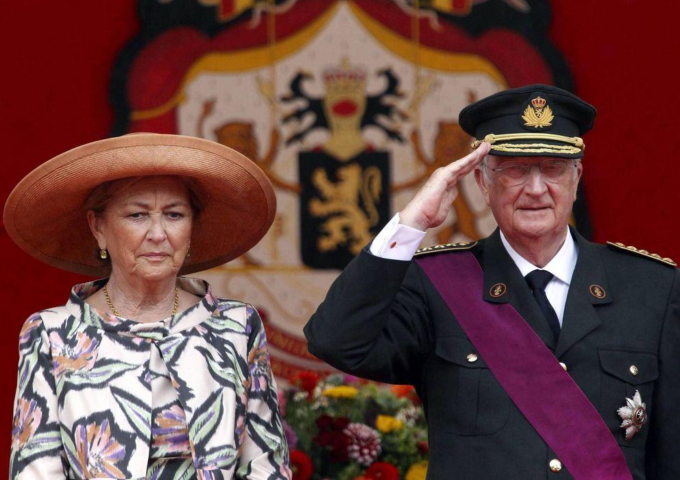 Foto: Alberto II y su esposa Paola en una imagen de archivo (Efe)