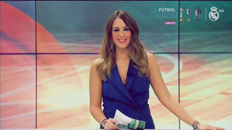 Cristina Porta, en Real Madrid TV.