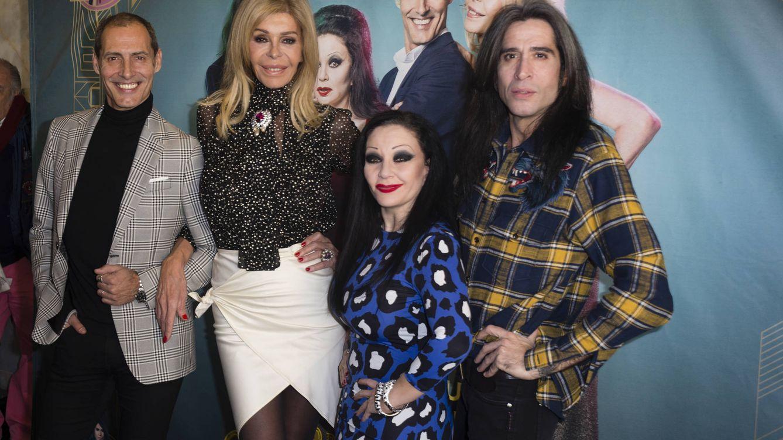 Alaska, Mario Vaquerizo, Bibiana y Manuel Banderas mantienen su 'amor en el aire'