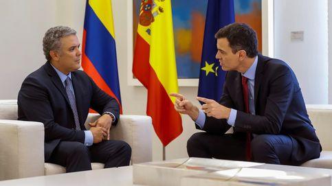 La gira latinoamericana de Sánchez: aval a firmas españolas y ayuda en Colombia