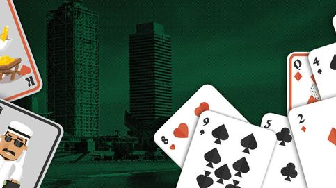 Los jeques árabes se concentran en el Arts de Barcelona para jugar al póker