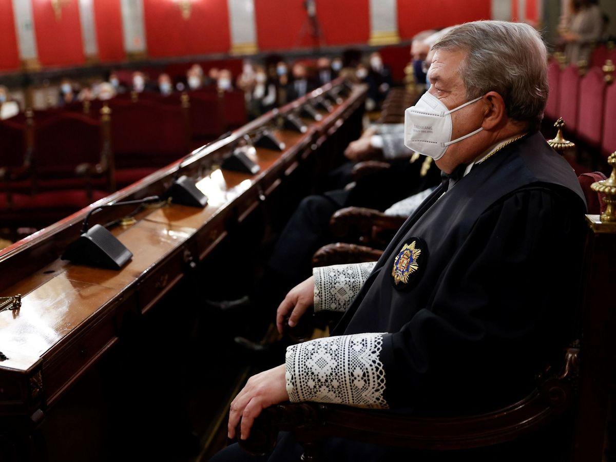 Foto: El presidente de la Sala Tercera del Alto Tribunal, César Tolosa. (EFE)