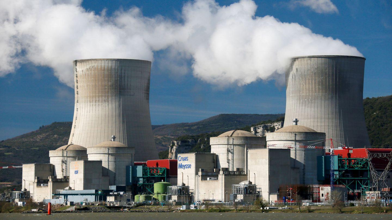 Planta nuclear de Cruas-Meysse, al sudeste de Francia. (Reuters)