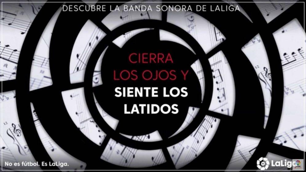 Foto: Presentación de 'Latidos del Futuro', himno oficial de LaLiga que fue presentado el 26 de julio en Madrid