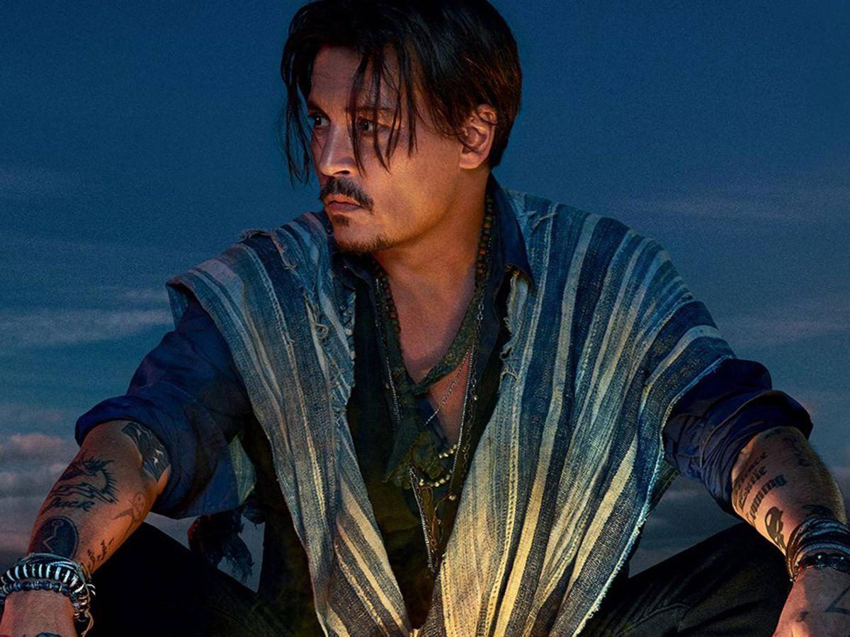 Foto: Johnny Depp. (Dior)