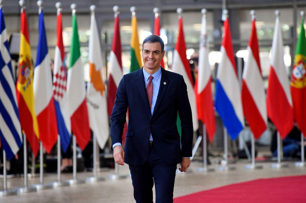 Foto: Pedro Sánchez, a su llegada al Consejo Europeo del pasado 21 de marzo en Bruselas. (Reuters)