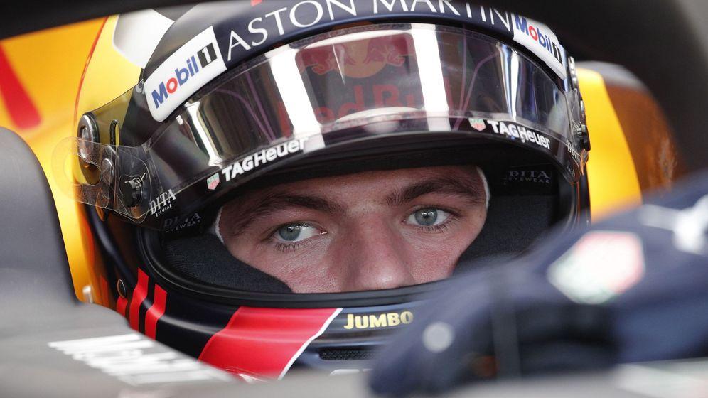Foto: Max Verstappen sentado en su Red Bull durante el GP de Mónaco. (EFE)