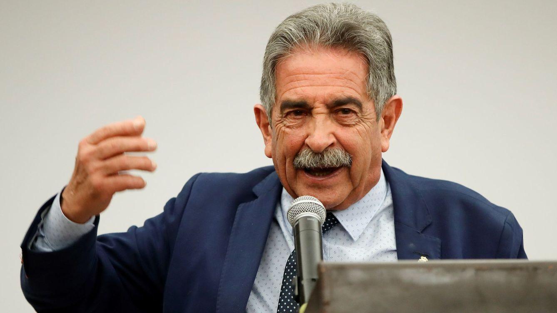 Foto: El presidente de la comunidad autónoma de Cantabria (España), Miguel Ángel Revilla. (EFE)