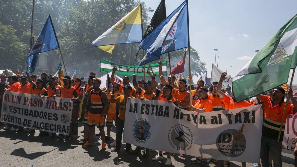 Los estibadores mantienen las huelgas de la próxima semana y convocarán nuevos paros