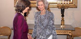 Post de La reina Sofía, con su 'casi consuegra' de almuerzo (y con Victoria de anfitriona)