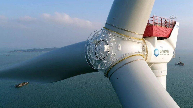 Foto: El nuevo molino chino será el más grande del mundo. (MingYang Smart Energy)