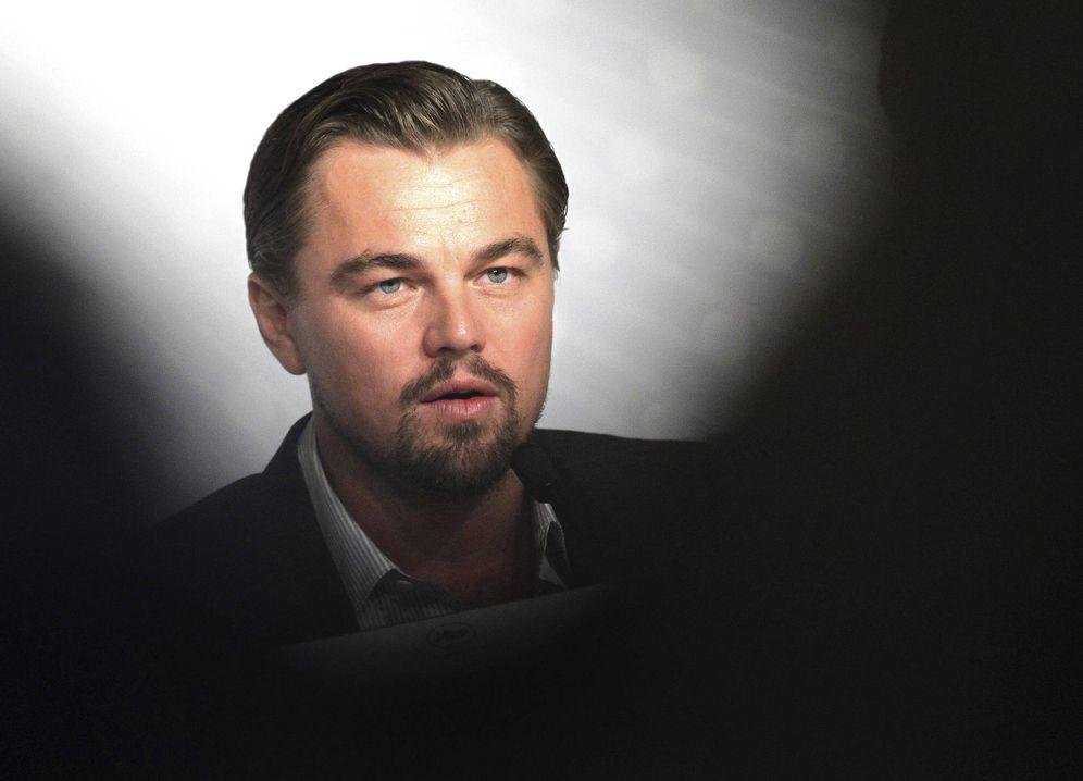 Foto: Leonardo Di Caprio en Cannes (EFE)