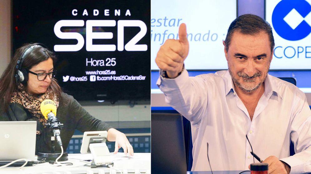 Foto: Àngels Barceló (SER) y Carlos Herrera (COPE) se disputarán el liderazgo de las mañanas a partir de septiembre.