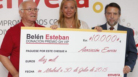 Belén Esteban comienza a donar el premio de 'Gran Hermano VIP'