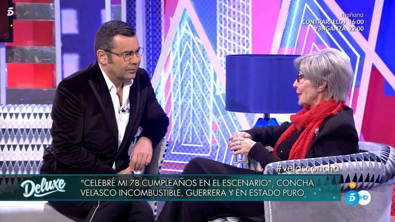 Concha Velasco visita 'Sábado Deluxe'.
