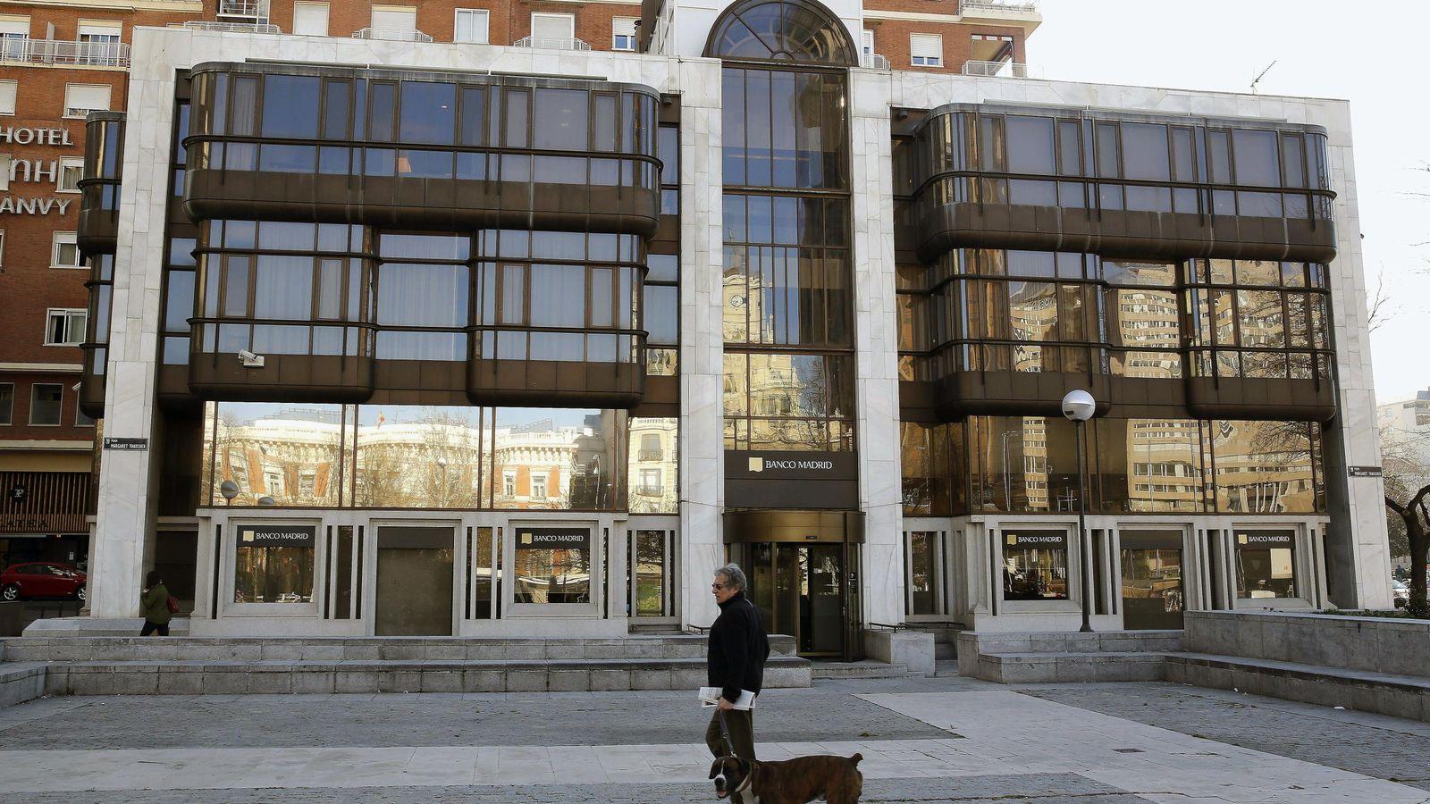 Foto: Sede de Banco Madrid en la Plaza de Colón