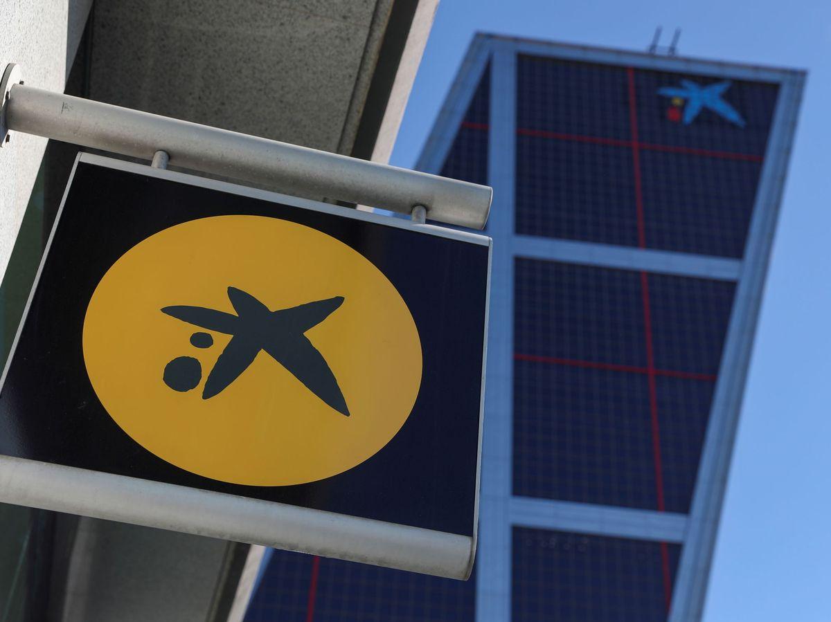 Foto: Logo de Ciaxabank en Madrid (Reuters)