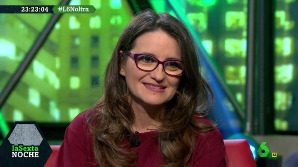 Foto: Mónica Oltra, en 'La Sexta noche'.