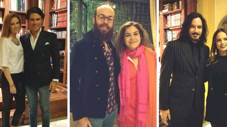 Olivia de Borbón y Julián Pprras; Tristán y Cósima; Gloria Camila y Mario Cimarro de 'Pasión de Gavilanes'. (Vanitatis)