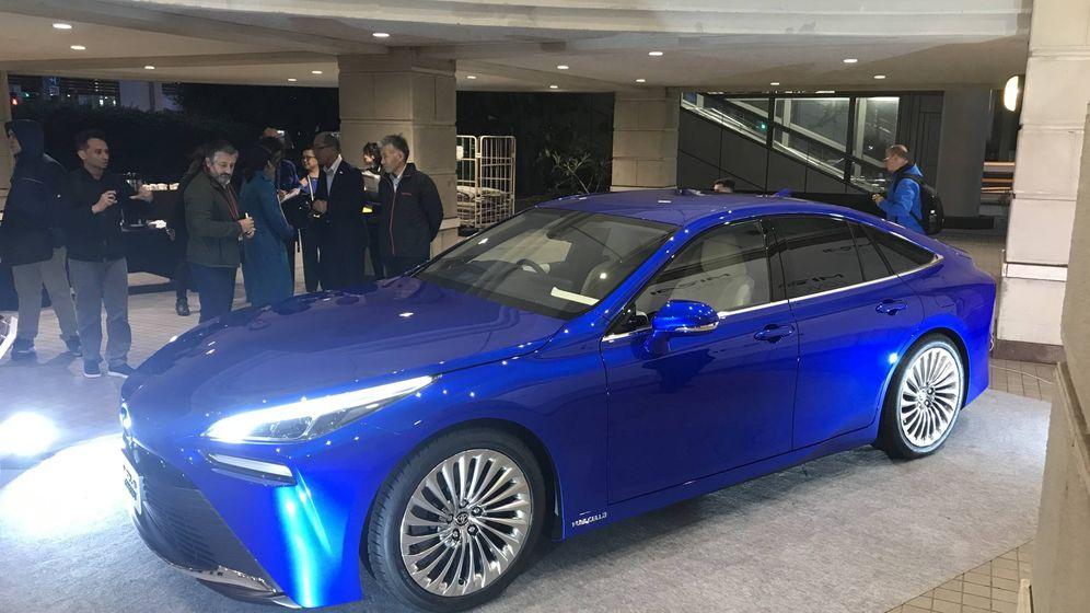 Foto: El prototipo Toyota Mirai, de hidrógeno.