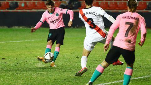 Messi y De Jong salvan los muebles ante un Rayo que hizo sudar a Koeman (1-2)