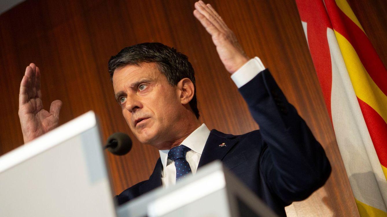 Manuel Valls pide a Ciudadanos que faciliten la investidura de Pedro Sánchez