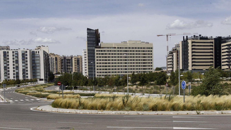 Foto: Ddesarrollo urbanístico de Valdebebas.