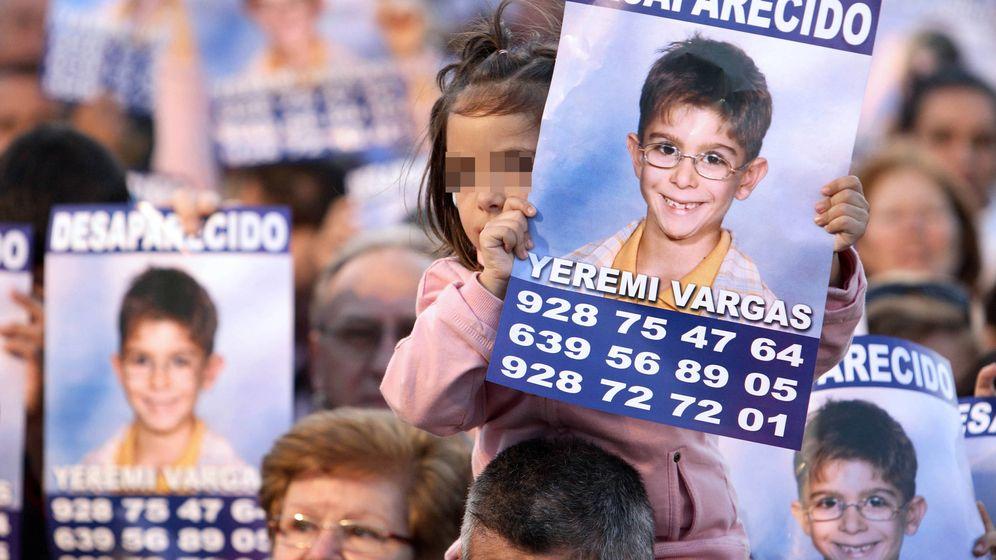 Foto: Manifestación de apoyo a la familia de Yéremi. (Reuters)