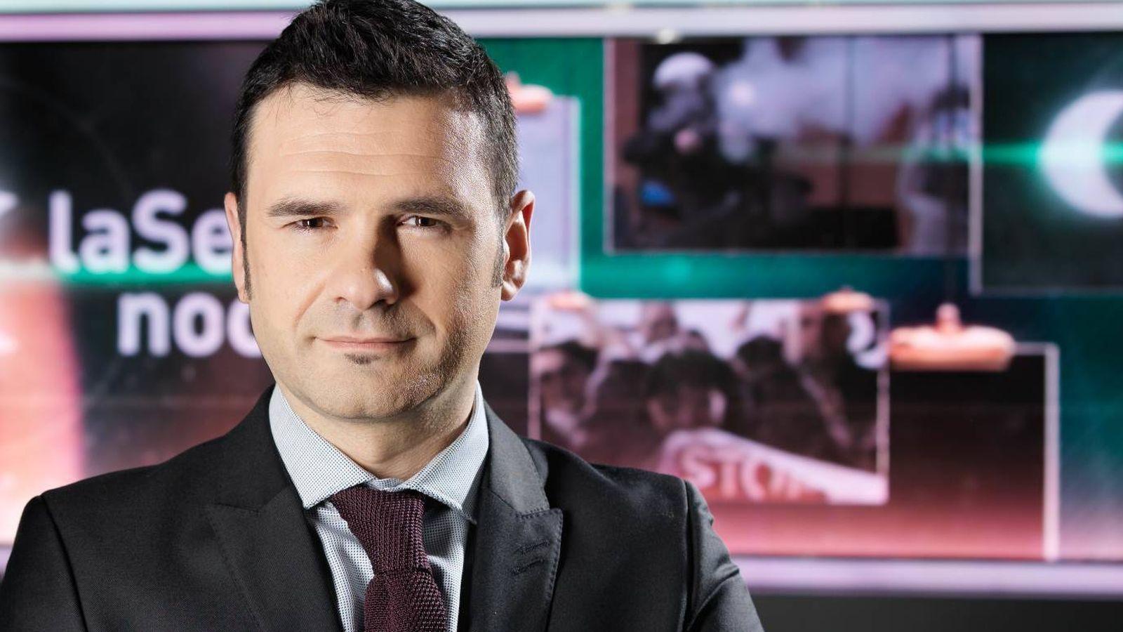 Foto: Iñaki López, presentador de 'La Sexta Noche'.