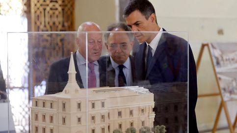 Sánchez visita la ampliación del Prado