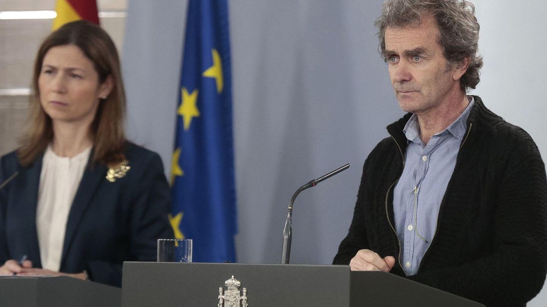 El director del Centro de Coordinación de Alertas y Emergencias sanitarias, Fernando Simón. (EFE)