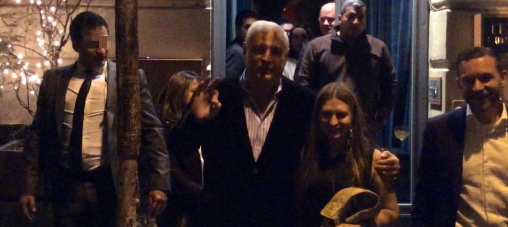 Foto: Ricardo Martinelli, el presidente saliente de Panamá, en el restaurante Ten con Ten (A. Manzano)