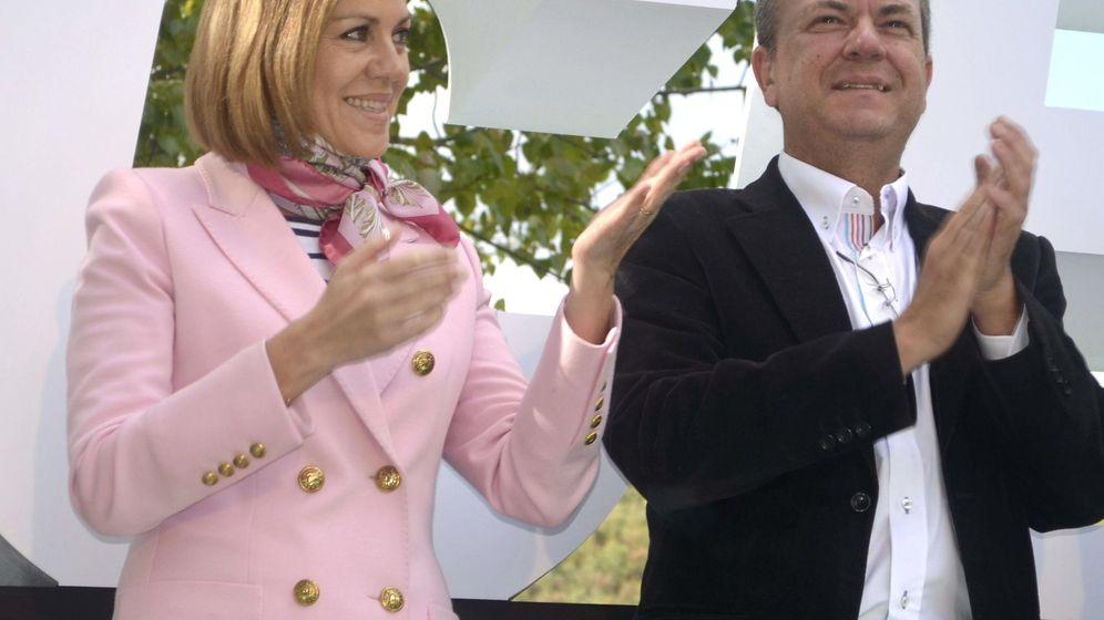 Foto: Fotografía de archivo de la secretaria general del PP, María Dolores de Cospedal, y José Antonio Monago. (EFE)