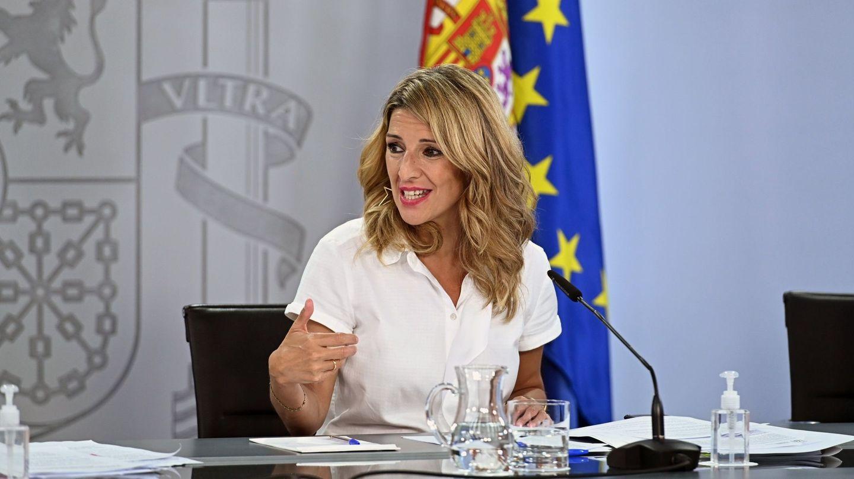 La ministra de Trabajo, Yolanda Díaz. (EFE)