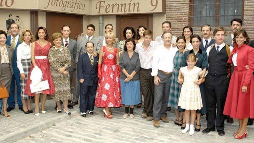 Foto: Los actores que componen la serie de RTVE