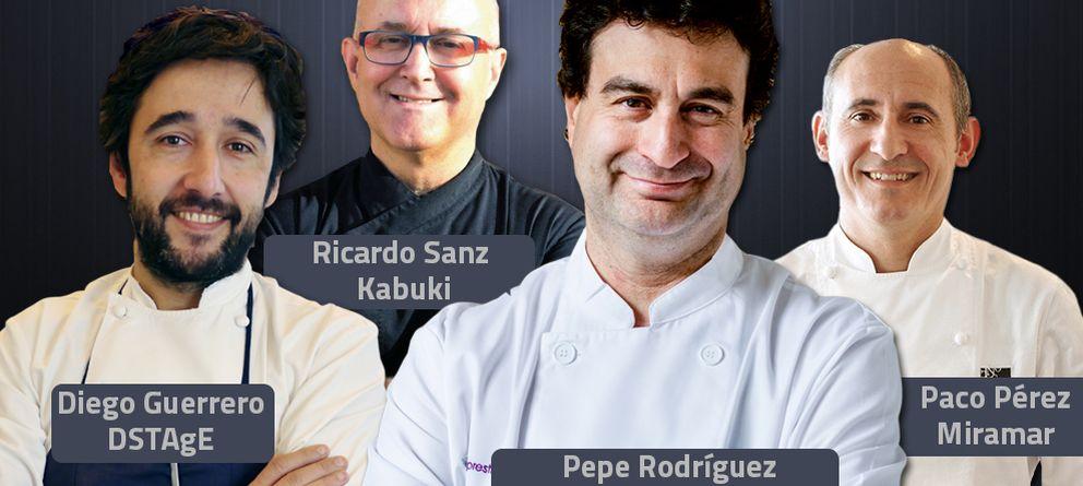 El estado de la alta cocina española, visto por cuatro cocineros con estrella Michelin