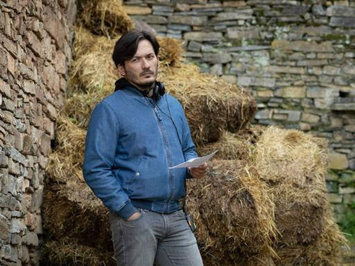 Foto: Alberto Caballero, creador y productor de 'El pueblo'. (Mediaset)