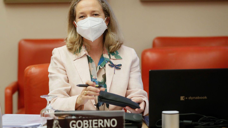 La vicepresidenta primera del Gobierno y ministra de Asuntos Económicos y Transformación Digital, Nadia Calviño. (EFE)