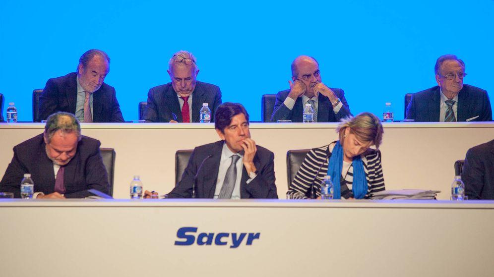 Foto: Consejo de administración de Sacyr. (Enrique Villarino)
