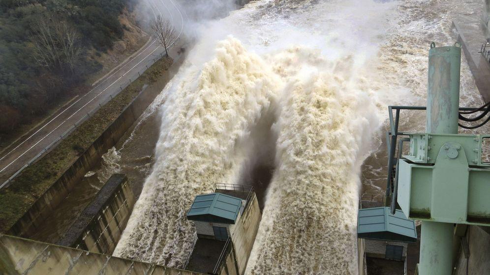 Foto: Las lluvias generan en la cuenca del Duero energía para 42.000 personas en un año. (EFE)